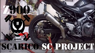 UNBOXING AKRAPOVIC Z900 + VS  IMITACION CHINA - hmong video