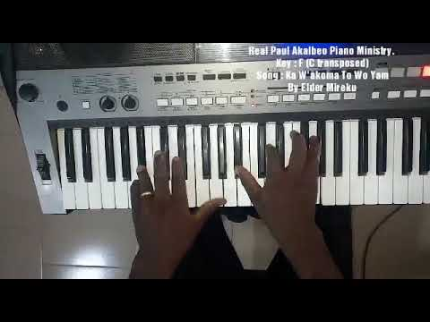 Ghana Pentecostal Piano Worship Touch (Influenced by Elder Mireku )