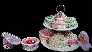 Noch Mehr Gehäkelte Törtchen Häkeln Crochet Cupcakes Favorite Videos
