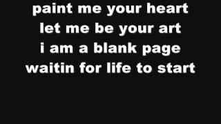 Christina Aguilera Blank Page (Lyrics On Screen)