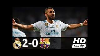 Spanish Super Cup Real Madrid Vs Barcelona 2 0 Full Highlights 16 08 2017 HD 1080i