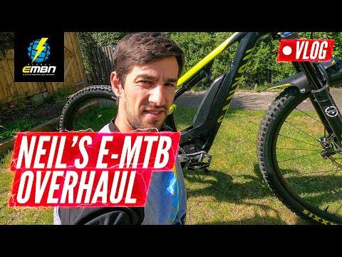E-MTB Overhaul & Electronic Shifting Hack   Neil's EMBN Vlog
