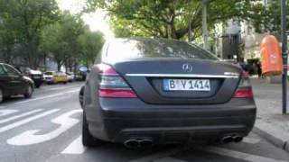 Matte Black S63, much sound and happy owners!