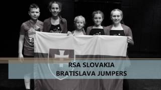 Reprezentácia Slovenska v skákaní cez švihadlo v show vystúpeniach