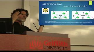Dr. Dariusz Leszczynski Griffith University Lecture on 5G, Wireless and Health.
