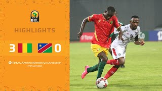 CHAN 2020 | 1er tour – Groupe D : Guinée 3-0 Namibie