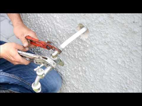 Außenwasserhahn auf einfache Art anbauen und anschließen