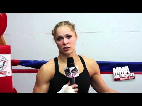 Ronda Rousey extended interview, talks Miesha Tate at Strikeforce, weigh...