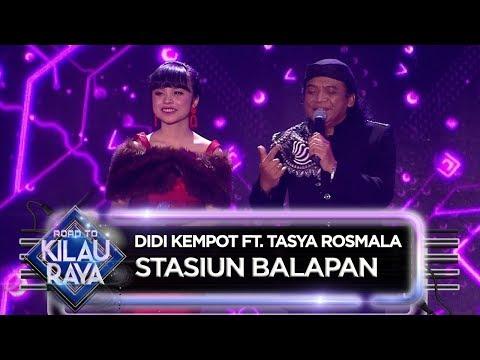 , title : 'SALATIGA LUAR BIASA!! Didi Kempot Ft. Tasya Rosmala [STASIUN BALAPAN] - ROAD TO KILAU RAYA (27/4)'