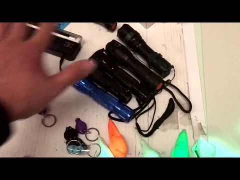 Comparativa linternas UV