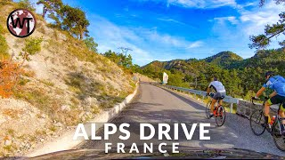 Driving In The French Alps - 🇫🇷 France - 4K Virtual Tour