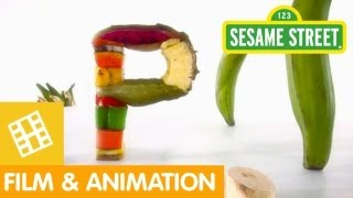 Sesame Street: Which Foods Begin with the Letter P?