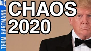 Trump Plans Chaos To Win 2020!
