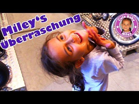 MILEY WIRD ÜBERRASCHT! Und sie PRANKT PAPA | CuteBabyMiley