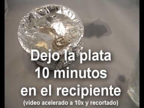 TRUCO limpiar plata