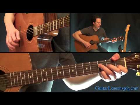 Watch Johnny Cash - Hurt Guitar Lesson - Acoustic on YouTube