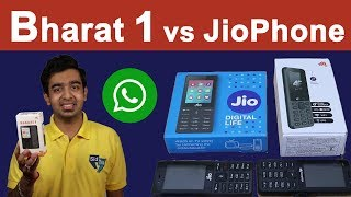 Micromax Bharat 1 Unboxing | JioPhone vs Bharat 1 | BSNL ₹97 Unlimited Data & Voice Plan