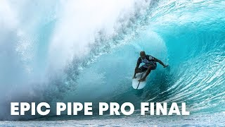 Slater, O'Brien, McNamara and Irons Face Off in Epic 2016 Pipe Pro Final