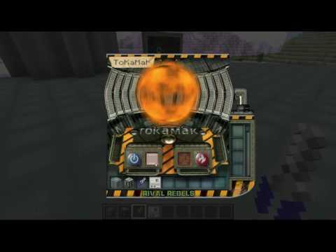 Tesla gun mod Minecraft Force Field Reactor - смотреть онлайн на Hah