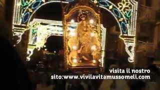 preview picture of video 'Speciale percorso Madonna Santissima dei miracoli di Mussomeli 2014'