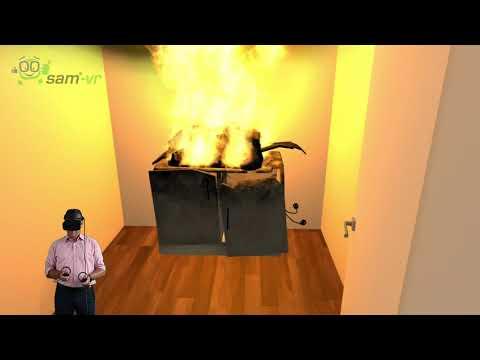 sam®-VR Brandschutz Schulungen