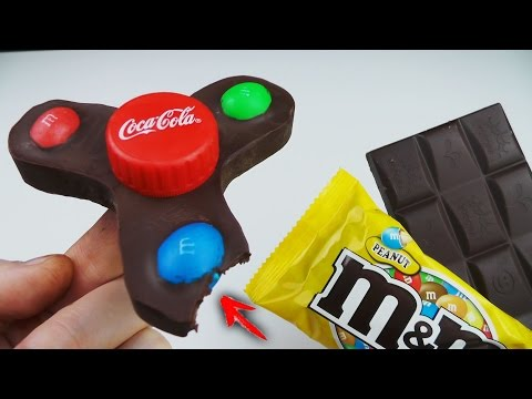 3 Awesome Life Hacks or Toys. Edible Fidget Spinner