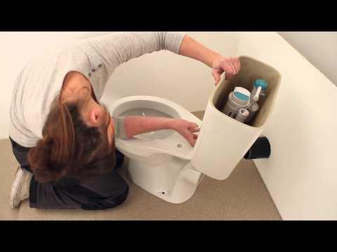 Montageanleitung fur Toilettenschussel und Spulkasten