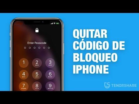 quitar código de bloqueo iphone olvidado