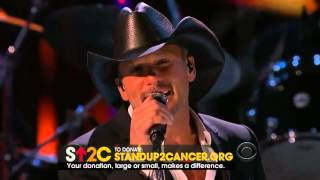 "Tim McGraw - Stand Up To Cancer 'Live Like You Were Dying"" featuring David Levita"