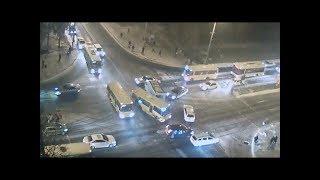 ДТП у Маріуполі, дорогу не поділили маршрутки