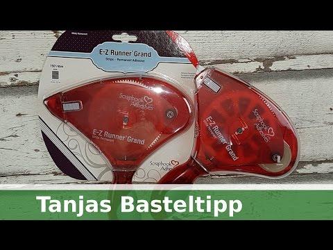 Tanjas schneller Basteltipp: Kleberoller E-Z-Runner Grand // Produktvorstellung [deutsch]