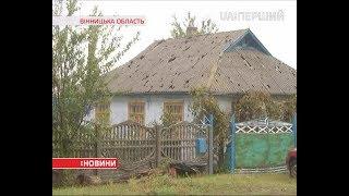 Понад 600 будівель побило градом у Крижопільському районі на Вінничині