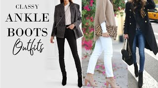 Ankle Boot Outfits | Fashion Over 40