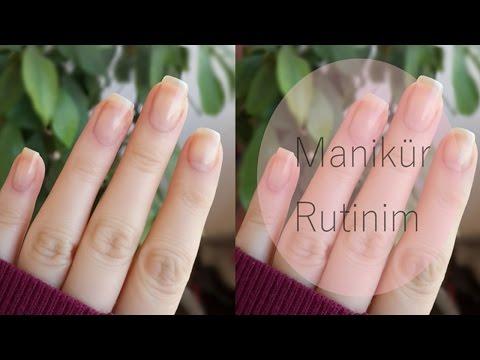 Manikür Rutinim / Evde Manikür / Manicure Routine / Manicure at Home