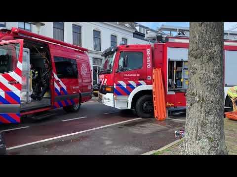 Brandweer rukt uit voor losgeslagen kano (video)
