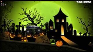 Машинка #хэллоуин #монстр-трак #мультик / #Toycar # Halloween # monster-truck #cartoonmarch 2
