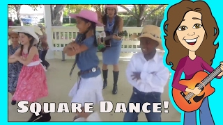 Do Si Do | Square Dance | Dance Song | Children, Kids and Toddlers Song | Patty Shukla