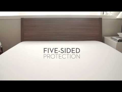 SLEEP TITE Five 5ided Mattress Protector with Tencel + Omniphase