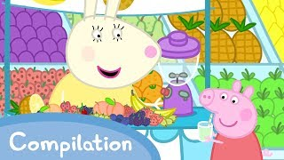 Peppa Pig Official Channel | Peppa Pig Loves Food Compilation