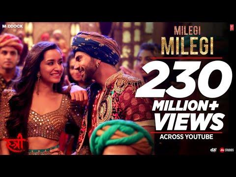 Milegi Milegi Video Song    STREE   Mika Singh   Sachin-Jigar   Rajkummar Rao, Shraddha Kapoor