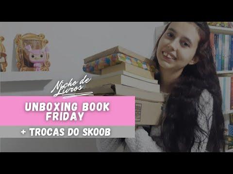 UNBOXING DA BOOK FRIDAY 2021 + TROCAS DE LIVROS PELO SKOOB ? - NICHO DE LIVROS