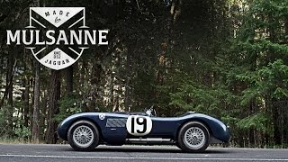 Jaguar C-Type 1953: Made for Mulsanne - Petrolicious