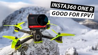 INSTA360 ONE R Review // Cinematic FPV Drone Footage