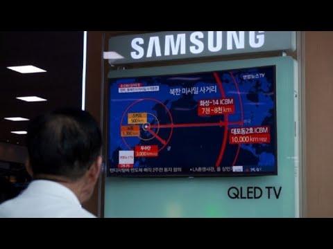 Video: Corea del Norte afirma que todo EEUU está al alcance de misiles
