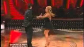 Sabrina Bryan- DWTS week 1- Dynamite Taio Cruz