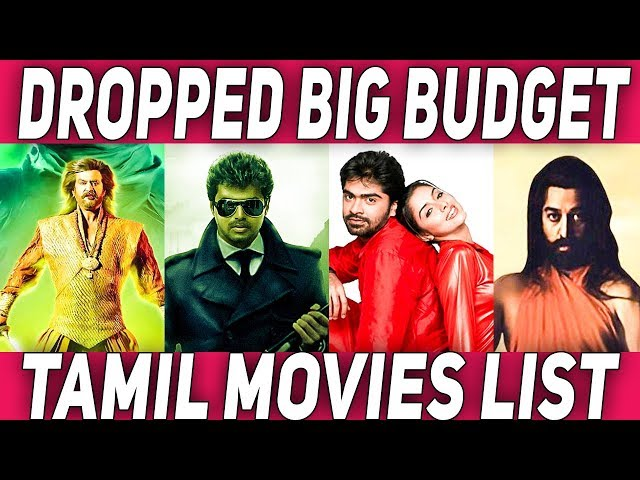 Dropped Tamil Big Budget Movies List | #Nettv4u