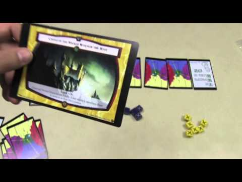 The Card Game of Oz Preview - with Tom Vasel