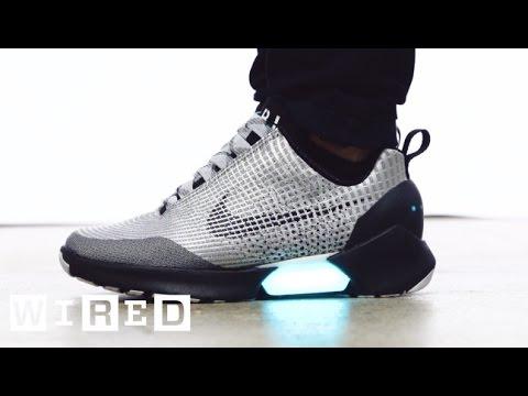Neuer Nike Schuh mit Akku für zwei Wochen klatsch