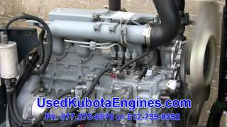 Used Kubota V2203  Engine For Sale Ph. 612-799-8092 Ser 2C0989 042815