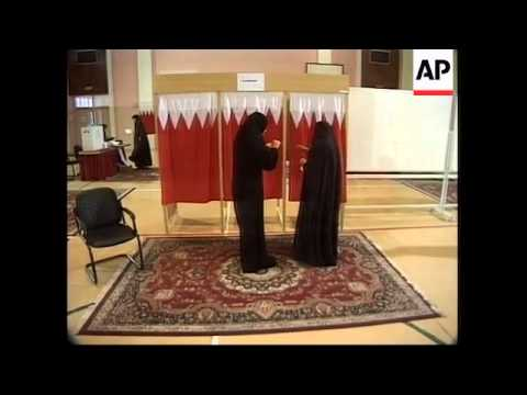 Bahrain's first democratic elections in 30 years